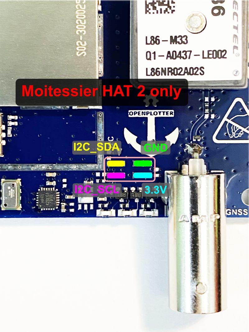 I2C pin header